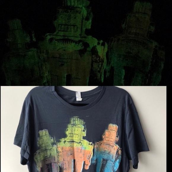 Alternative Apparel Other - NWOT FINAL PRICE! GLOW in Dark Robot T Shirt 🔥